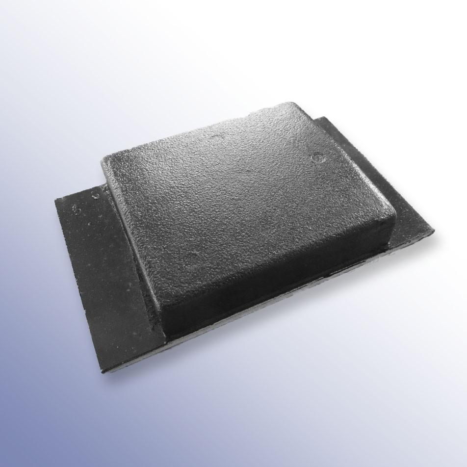 Aluminium Tipper Pad Coated 152L x 88W x 28H