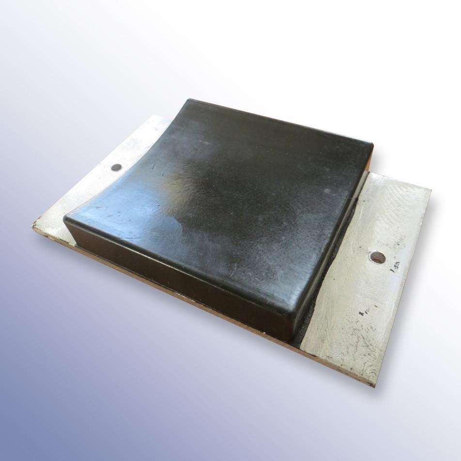 Aluminium Tipper Pad Concaved 190L x 115W x 20-26H