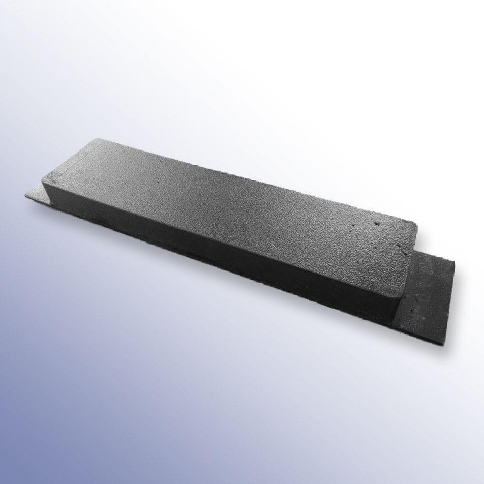 Steel Tipper Pad Coated 355L x 75W x 30H