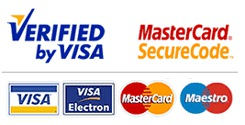 Verified by Visa and Mastercard Secure Code