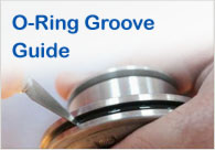 Use our oring groove guide to understand which size o-ring you need.